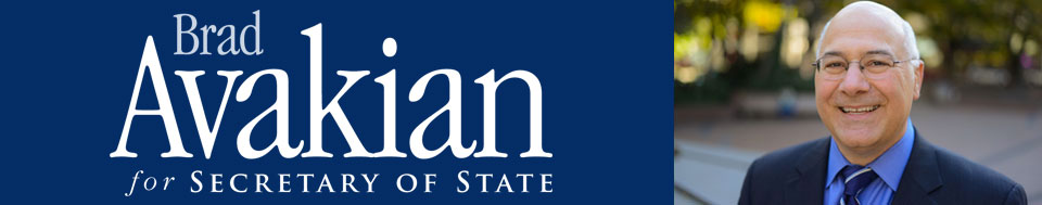Brad Avakian for Secretary of State